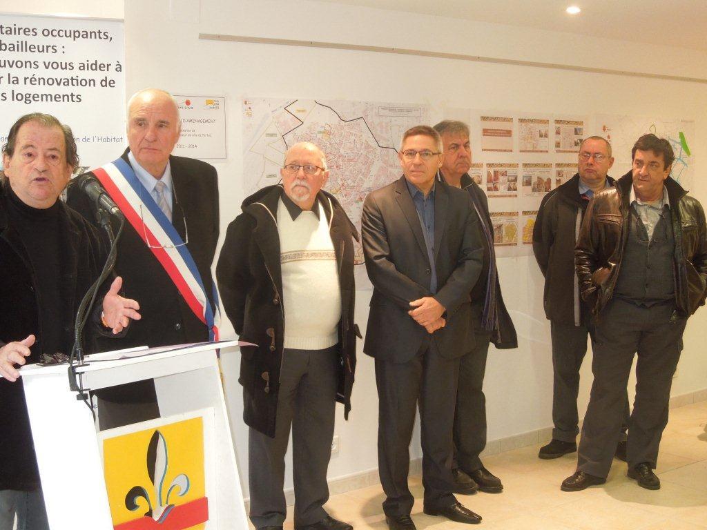 Inauguration de pertuis forum espace gaston castel g s - Architecte pertuis ...