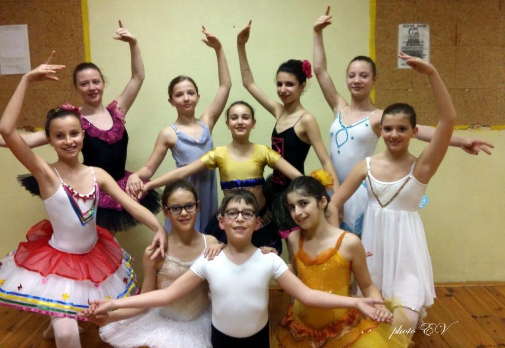 Le week end du 5 et 6 mars les élèves de danse classique
